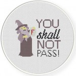 You Shall not Pass Illustration