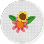FlowerTwo Stitch Illustration