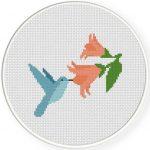 Humming Bird Stitch Illustration