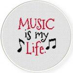 Music is my Life Illustration