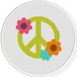 Peace Flower Illustration