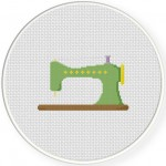 So And Sew Cross Stitch Illustration