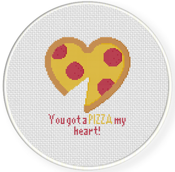 pizza is mij heart