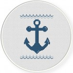 Ahoy Cross Stitch Illustration
