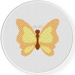 Pattern Butterfly Cross Stitch Illustration