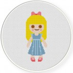 Ragdoll Cross Stitch Illustration