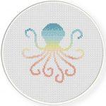 Octopus Cross Stitch Illustration