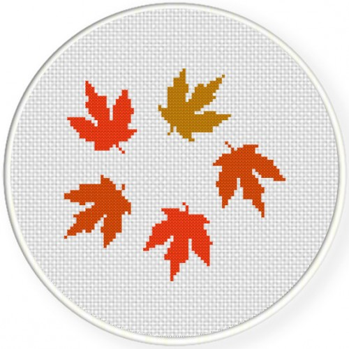 The Fall Cross Stitch Illustration
