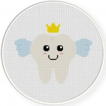Tooth Fairy Cross Stitch Illustration