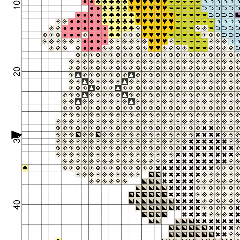 Cross Stitch Pattern Best Design