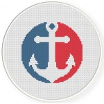 Anchor Cross Stitch Illustration