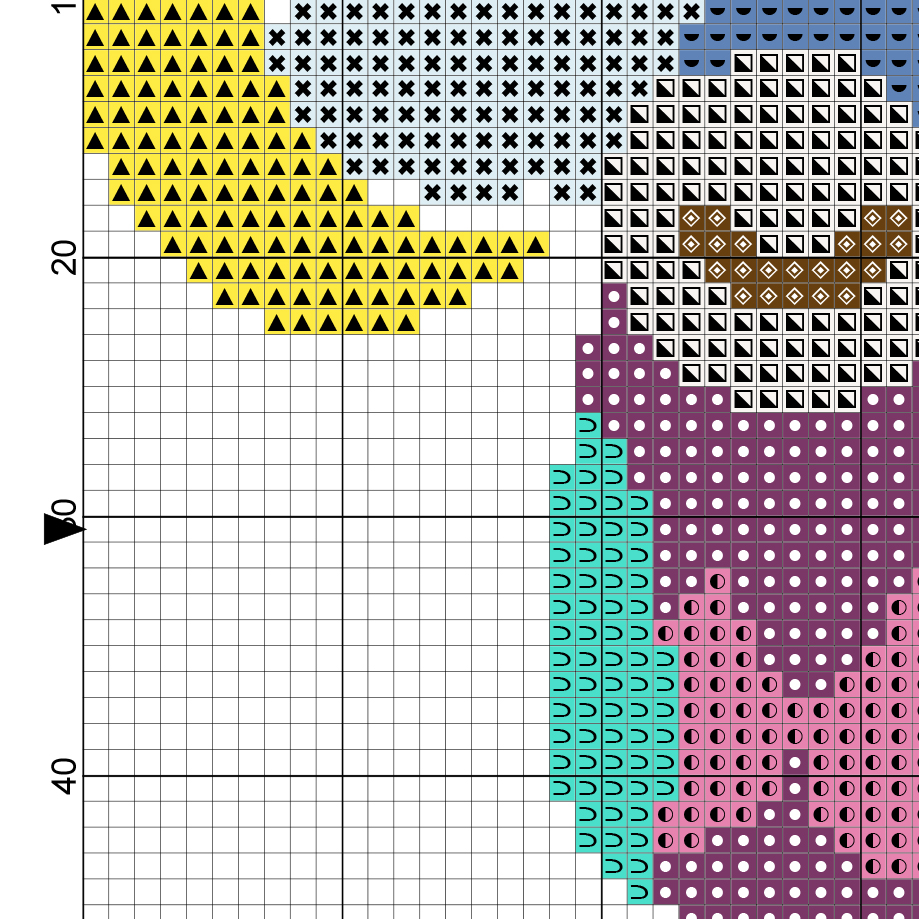 Charts Club Members Only Bedtime Owl Cross Stitch Pattern