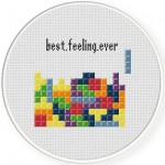 Brick Game Cross Stitch Illustration