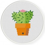 Cactus Cross Stitch Illustration