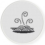 Noodles Cross Stitch Illustration