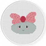 You Rock Girl! Cross Stitch Illustration