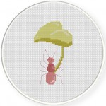 AntBrella Cross Stitch Illustration