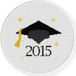 Graduation 2015 Cross Stitch Illustration