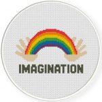 Imagination Cross Stitch Illustration