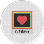 Love In An Instant Cross Stitch Illustration