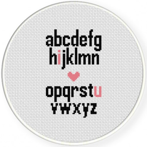 The Alphabet Cross Stitch Illustration