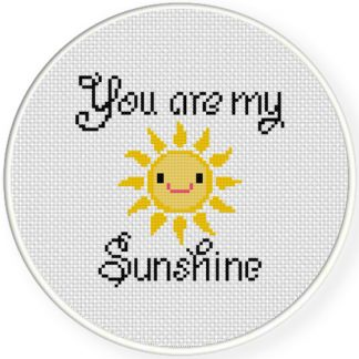 Charts Club Members Only: You Are My Sunshine Cross Stitch