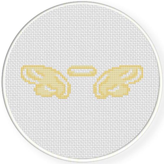 Angel Wings Cross Stitch Pattern