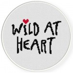 Wild At Heart Cross Stitch Illustration