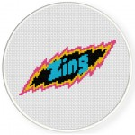 Zing Cross Stitch Illustration