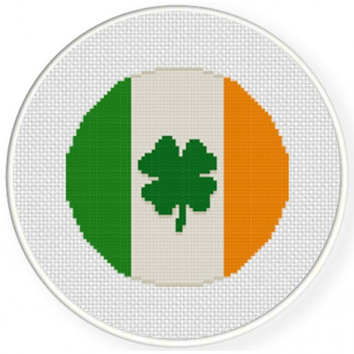 Irish Luck Cross Stitch Illustration