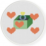 Will You Marry Me Cross Stitch Illustration