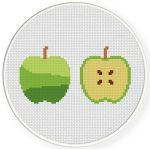 Apples Cross Stitch Illustration
