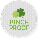 Pinch Proof Cross Stitch Illustration
