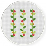 Vines Cross Stitch Illustration