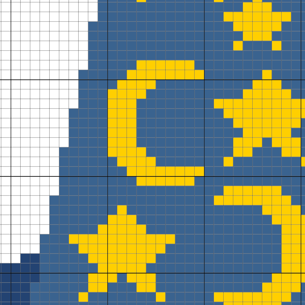 charts club members only  magician hat cross stitch